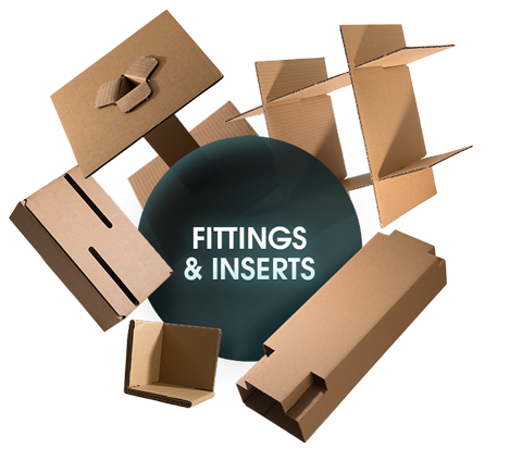 CORRUGATED Fittings and Inserts