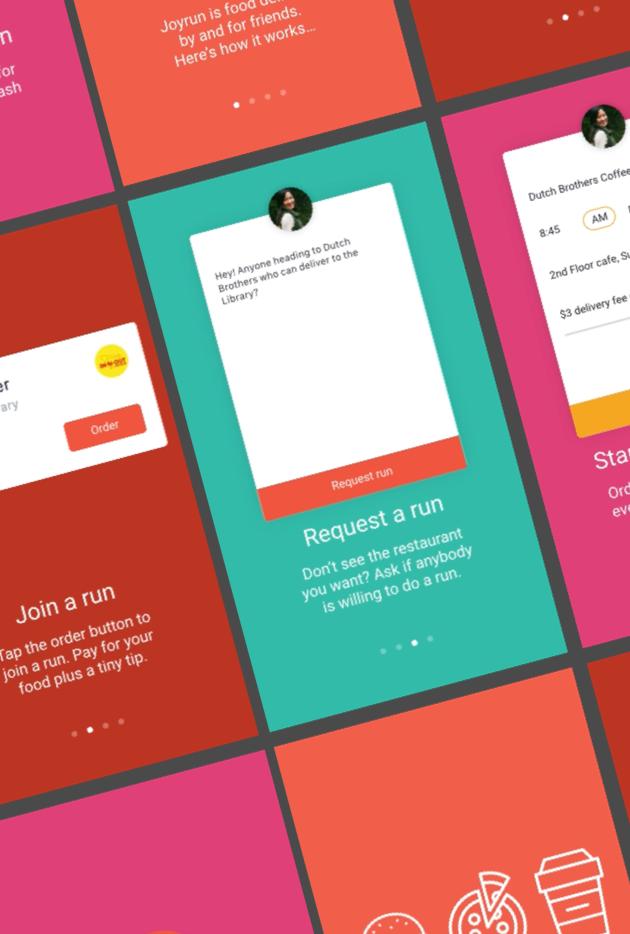 Joyrun Mobile App Onboarding
