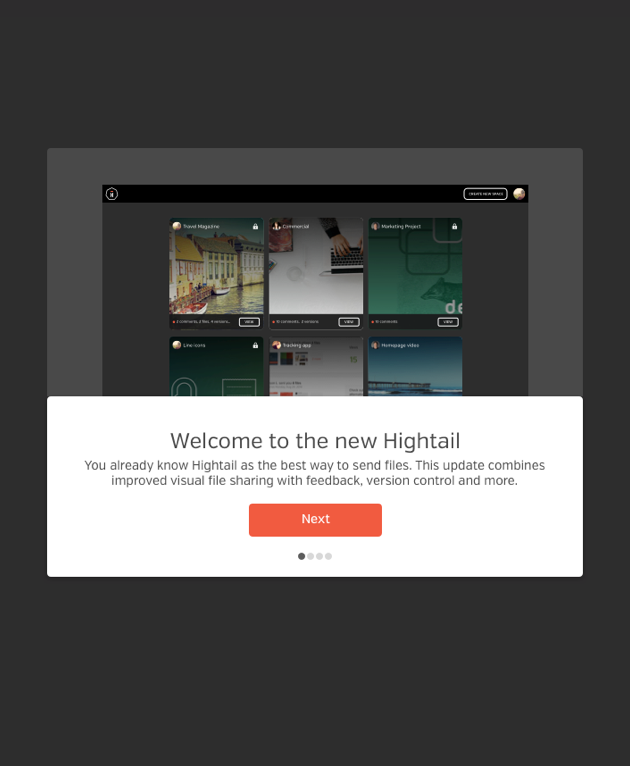 Hightail Spaces Onboarding