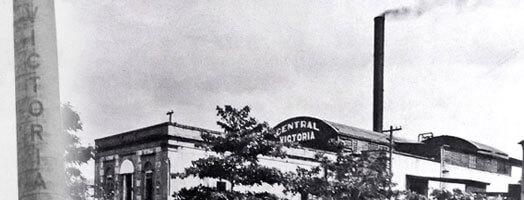 Foto de la antigua Central Azucarera Victoria, en Carolina