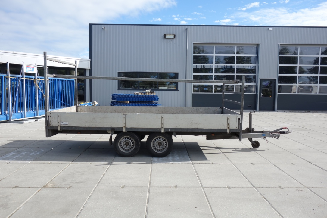 Anssems Plateauwagen 400x180cm 2000kg. Inruil aanbieding