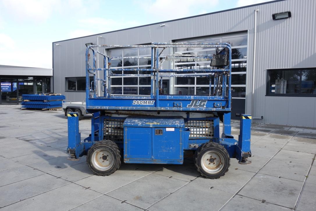 JLG 260mrt 4x4 diesel schaarhoogwerker