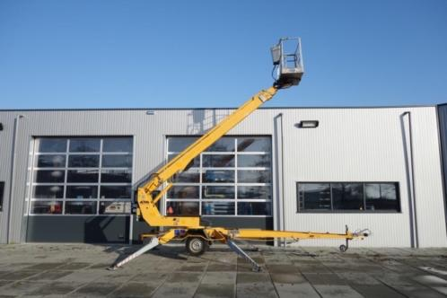 Dino 180T Aanhangwagen hoogwerker 18 meter telescoop gekeurd