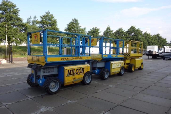 Genie GS2668RT 4x4 diesel Ruwterrein hoogwerker schaarlift