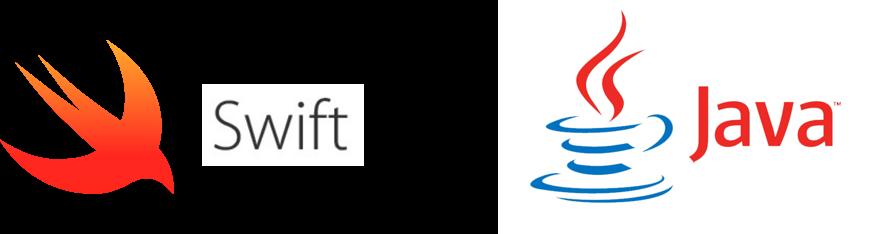 swift and java logos