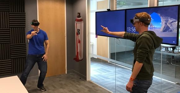 Redgate HoloLens Ideation - RoboRaid