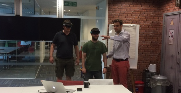 Redgate HoloLens Ideation - Max