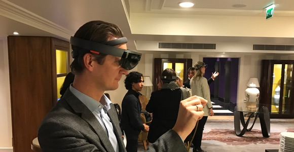 Egon Zehnder HoloLens Demo #1