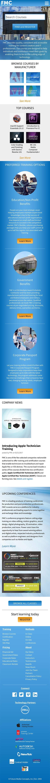 Future Media Concepts Mobile Website Scroll