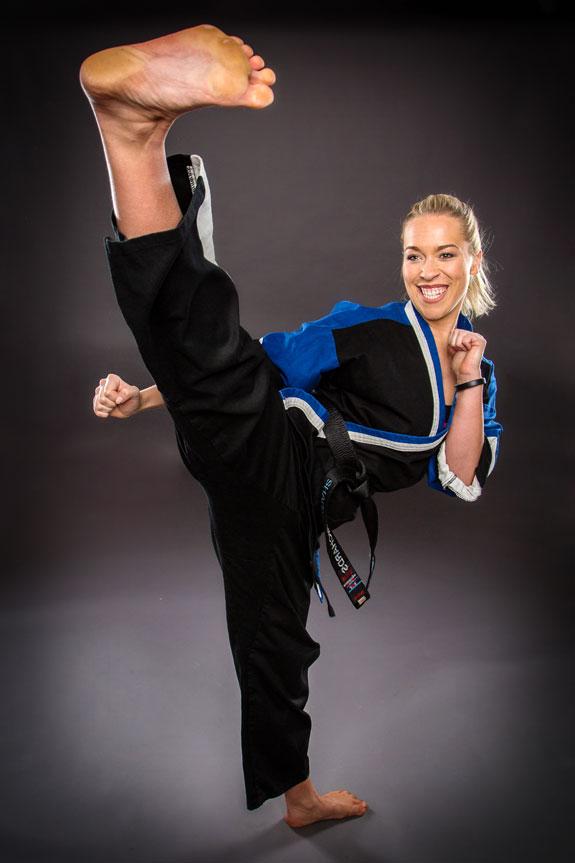 Sharnie karate and kickboxing