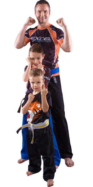 family karate and kickboxing in Sheffield