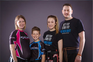 family karate and kickboxing lessons in sheffield