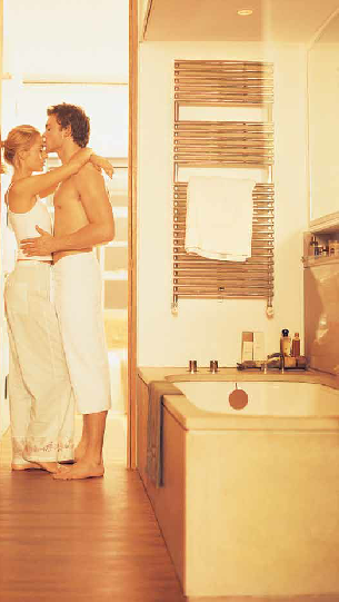 Chauffage au sol et chauffage au mur pour chauffage salle de bain - Chauffage mural pour salle de bain ...
