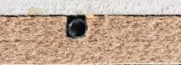 plancher chauffant ECO+ en coupe avec une chape sèche 12,5mm