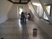 Plancher chauffant idéal pour construction