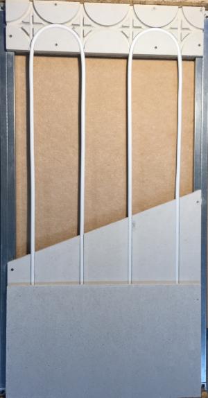 mur chauffant isolation renforcée laine bois