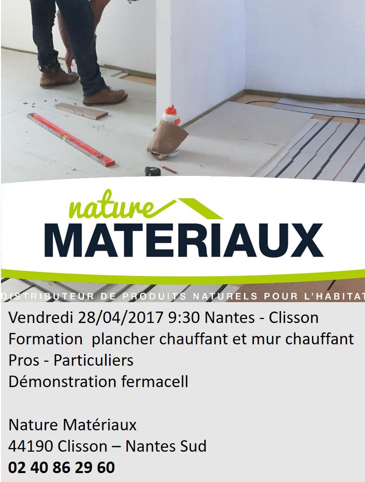 Formation plancher chauffant