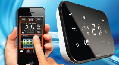 video thermostat internet salus iT500