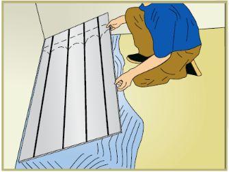 Pose plancher chauffant Caleosol Classique