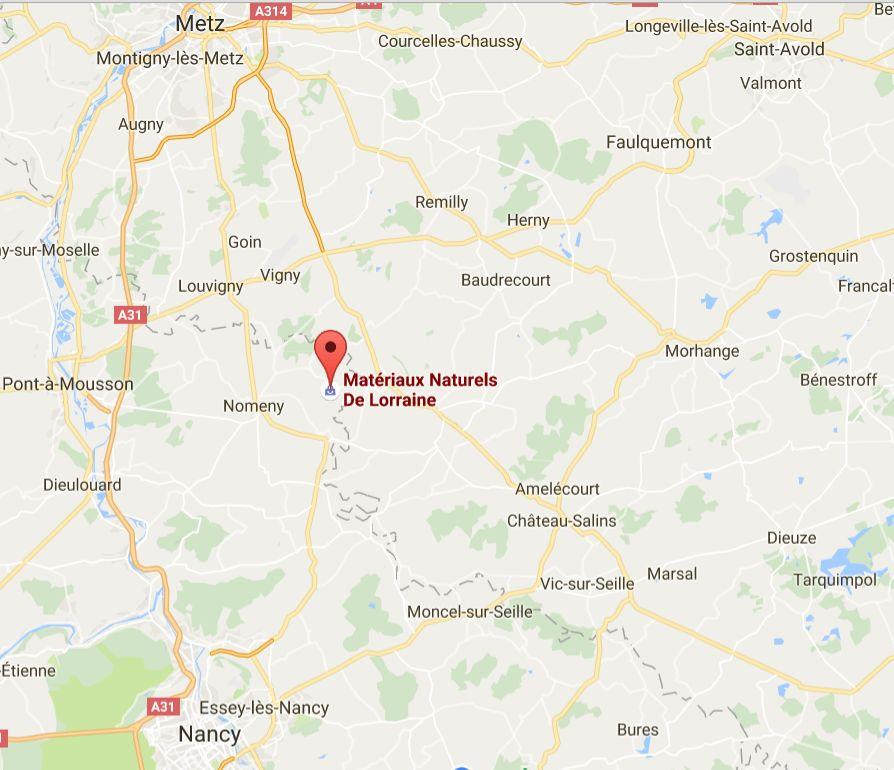 Magasin plancher chauffant à nancy: Materiaux naturels de Lorraine