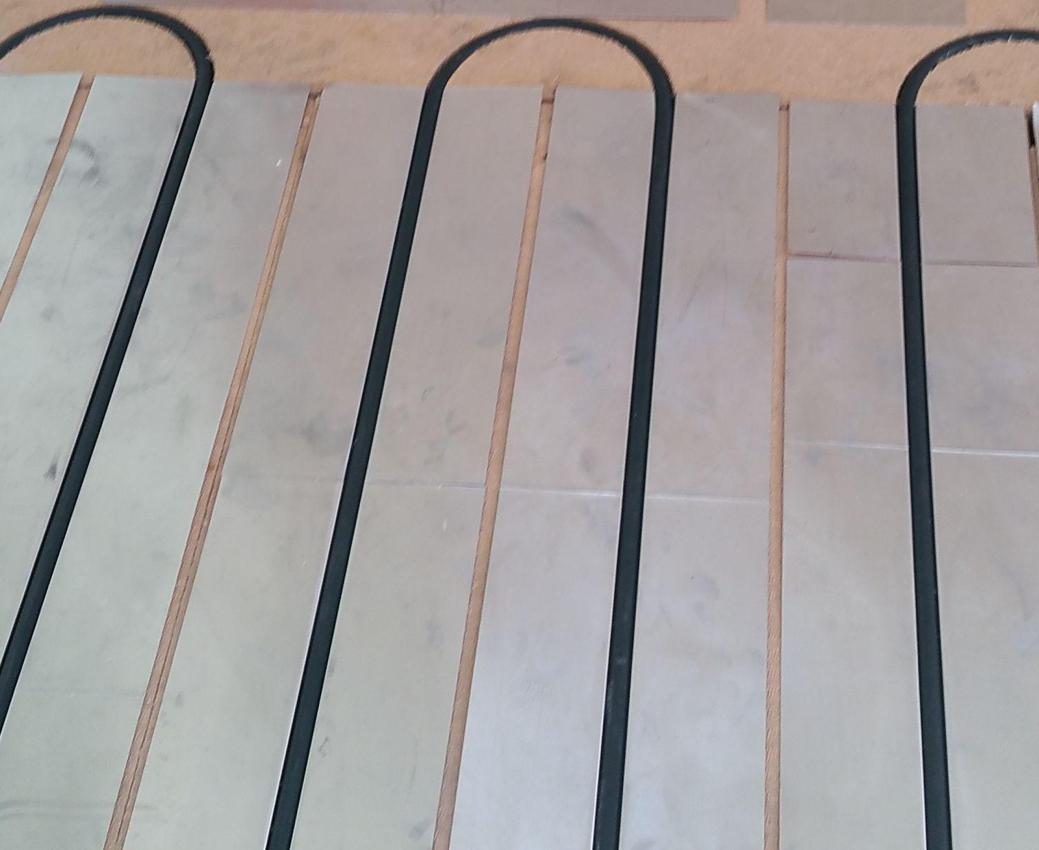 Rendu final du plancher chauffant réalisé par DM Projets à Lyon