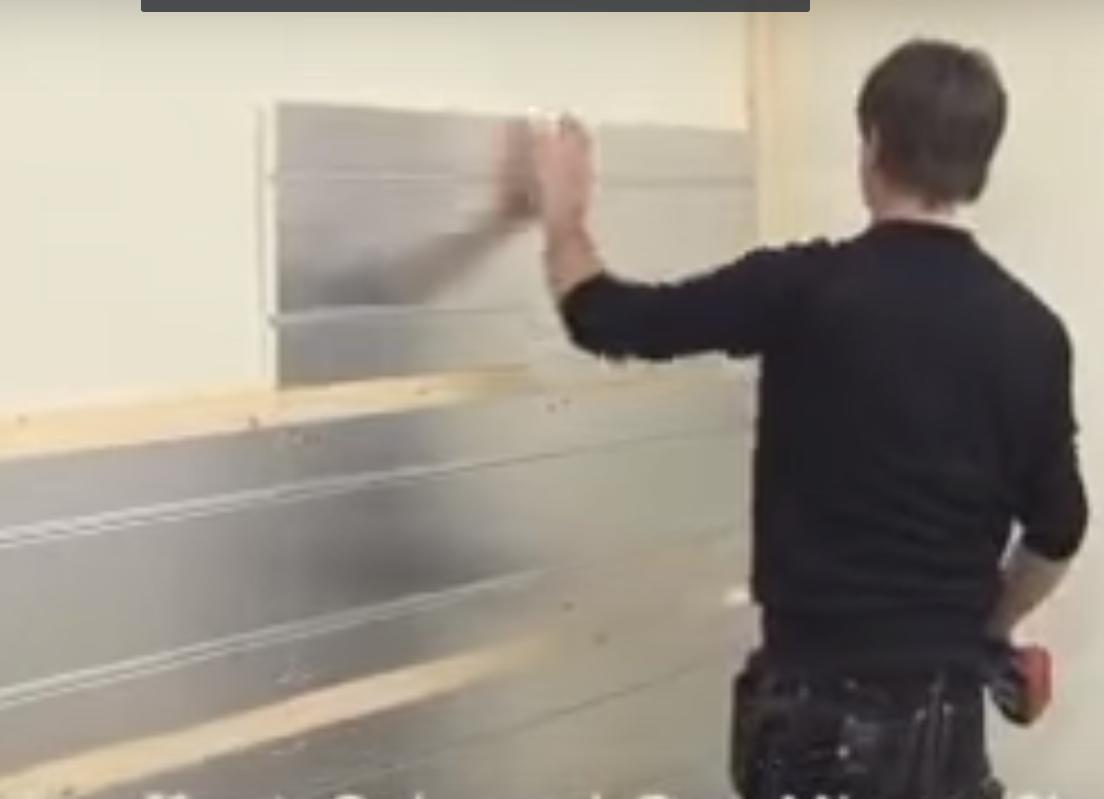 Remplacer radiateur par mur chauffant