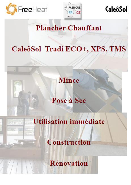 Logiciel calcul calepinage plancher chauffant