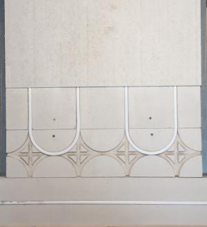 mur chauffant gypse plus facile à poser qu'un mur chauffant terre crue , argile ou brique