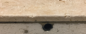 Pose directe de carrelage sur plancher chauffant salle de bains