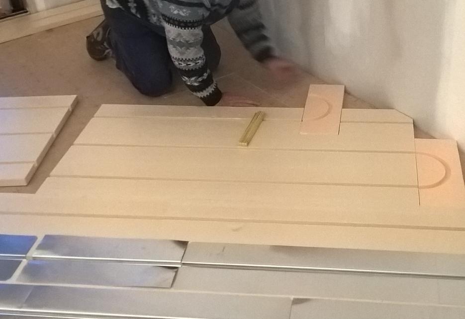 Découpe minitieuse du plancher chauffant 42220 Bourg-Argental