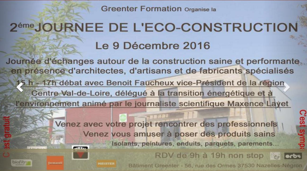 2eme journée de l'éco-construction avec la participation de Caleosol