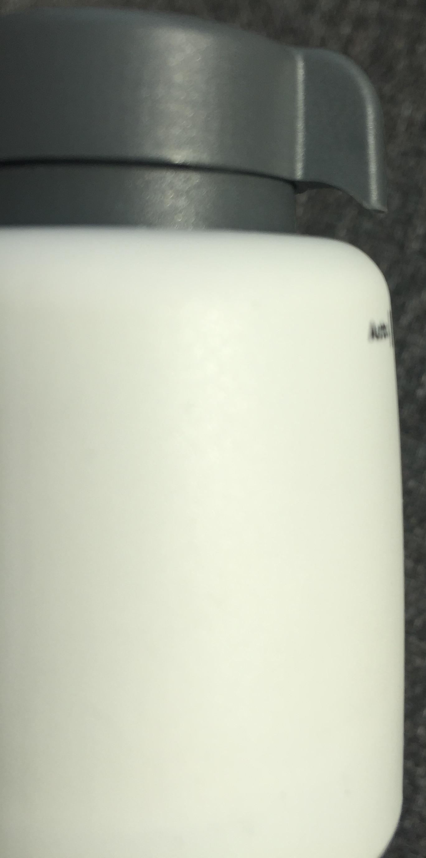 uand l'actuateur est ouvert ou en mode manuel, la bague grse est levée
