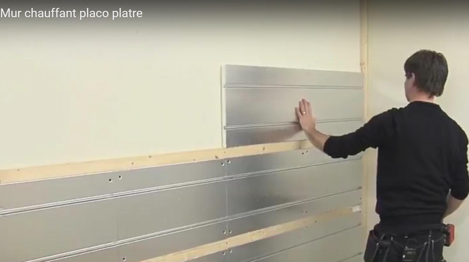 Articles mur chauffant le mur chauffant par caleosol for Comment poncer un mur peint