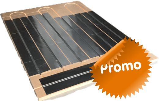 Matériaux de construction économie circulaire: le plancher chauffant Caleosol Tradi XPS