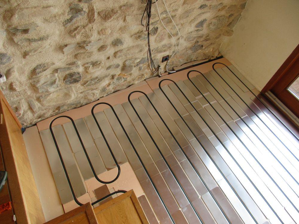 Pose de plancher chauffant par Monsieur.J autoconstructeur à 74000 Annecy Andilly