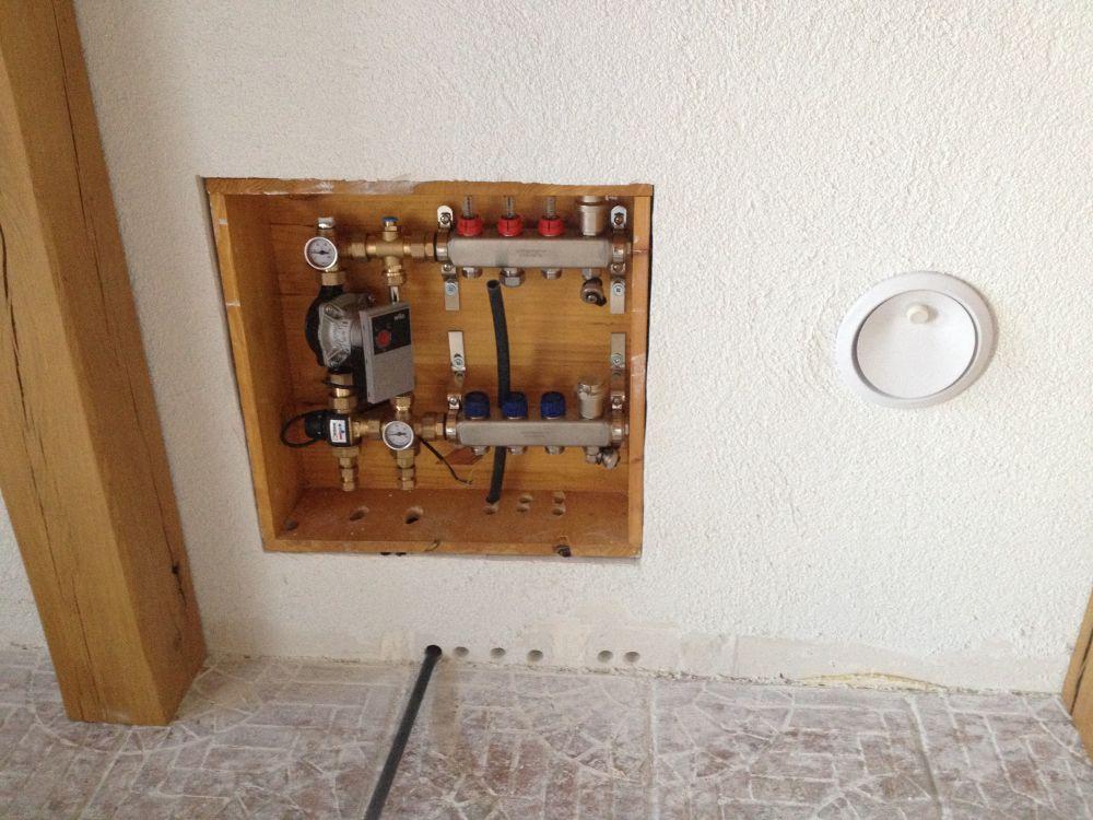 Pose d'une station de mélange avec collecteur par Monsieur.J autoconstructeur à 74000 Annecy Andilly