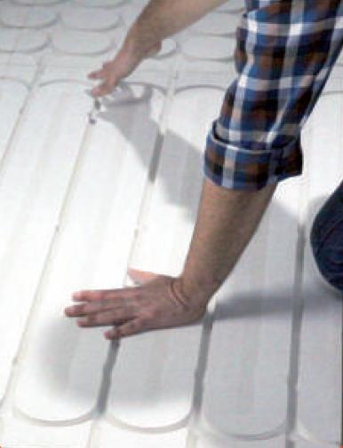 r parer un plancher chauffant lectrique le plancher chauffant par caleosol. Black Bedroom Furniture Sets. Home Design Ideas