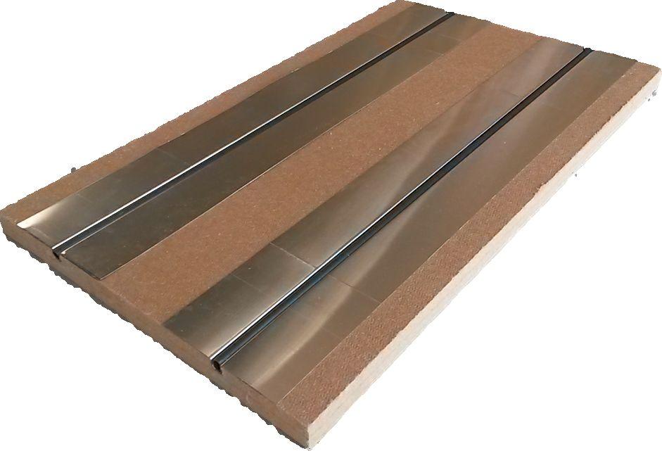 Plancher chauffant ECO+ RT2020 pour chape de béton d'argile