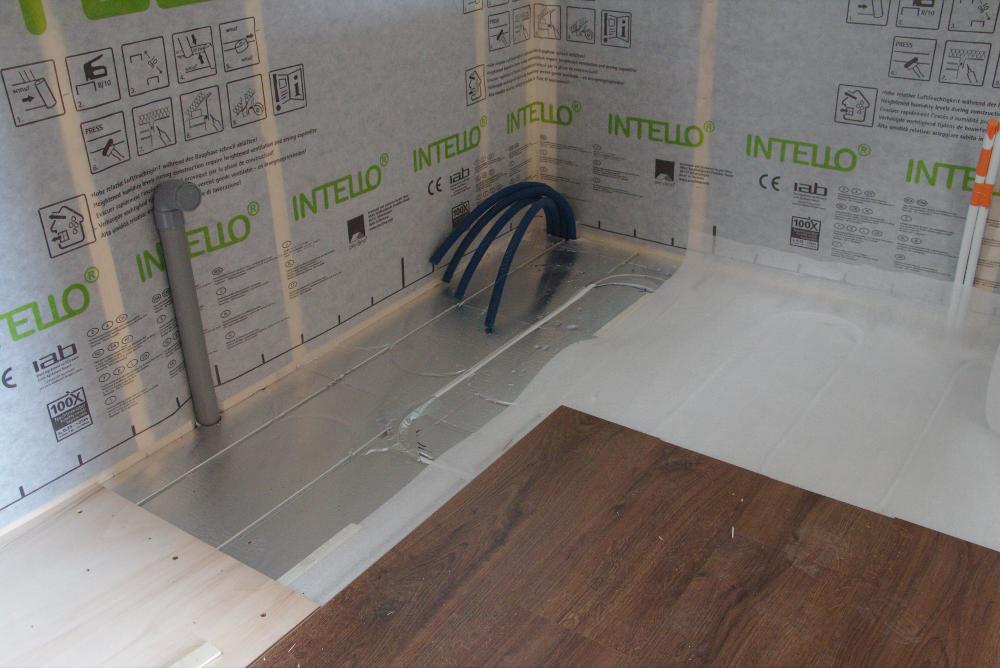 Plancher chauffant Caleosol pour Tiny House de Optinid