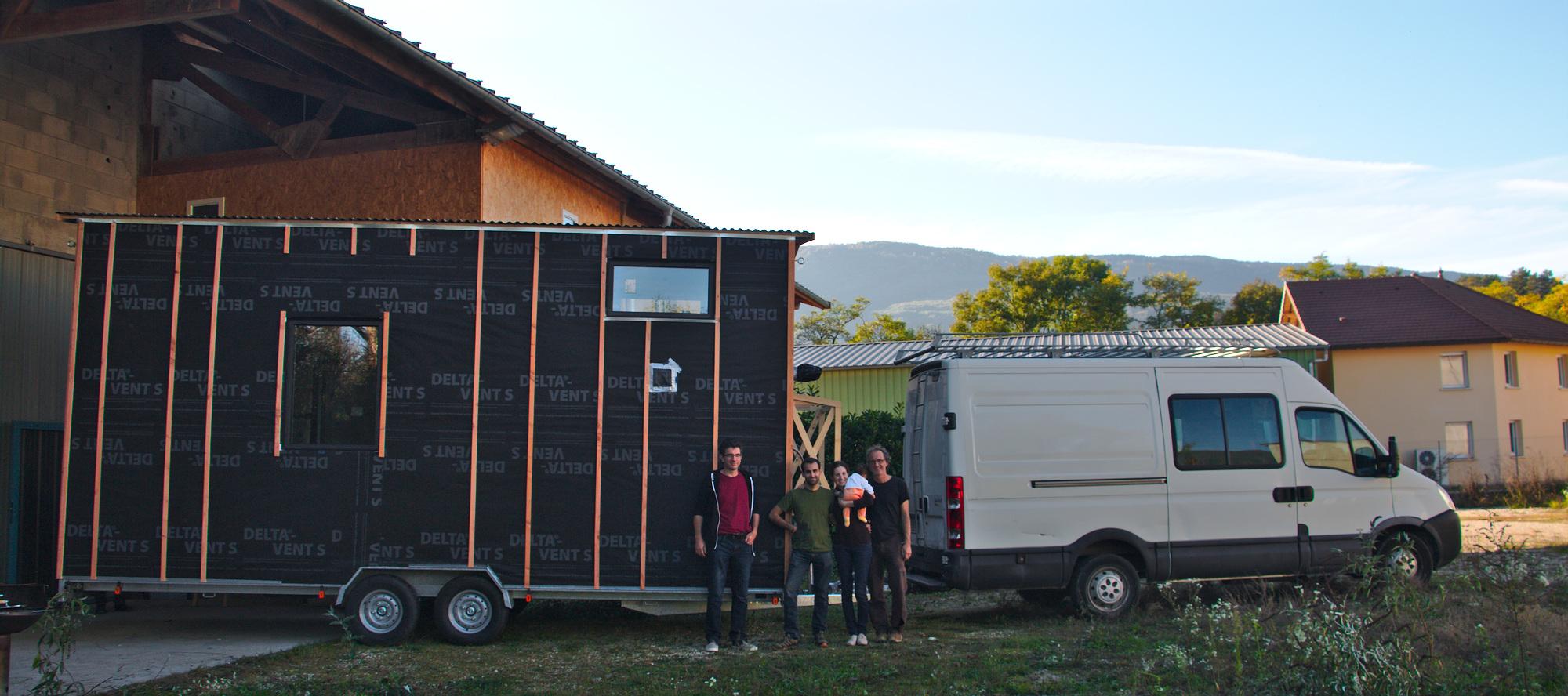 Transport d'une Tiny House préfabriquée