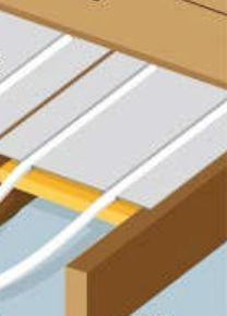 plancher chauffant rayonnant le plancher chauffant par caleosol. Black Bedroom Furniture Sets. Home Design Ideas