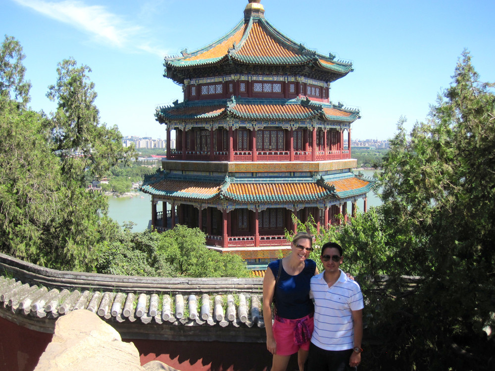 Temple at the Summer Palace in Beijing, China
