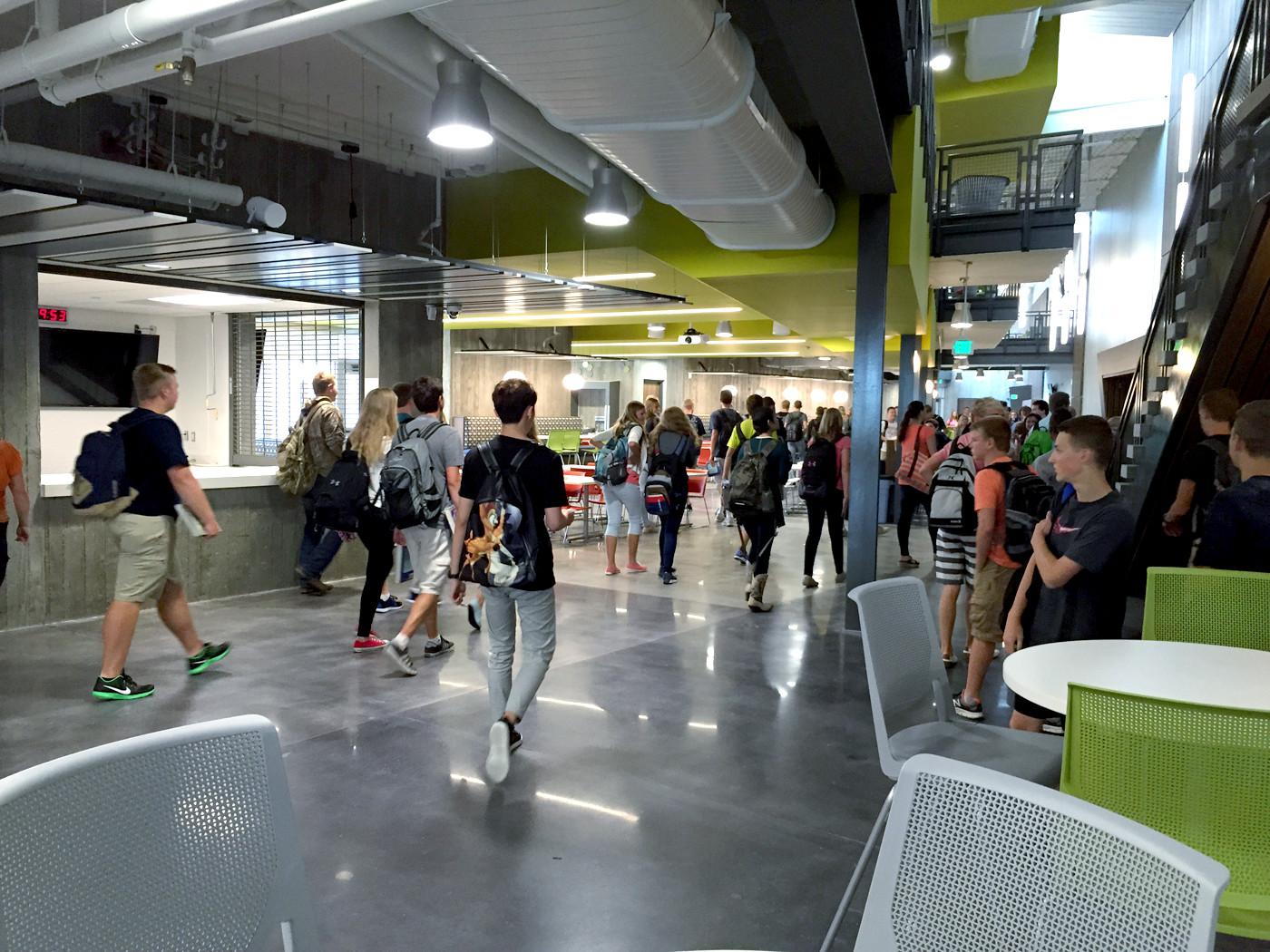 Unity New Facility Hallway