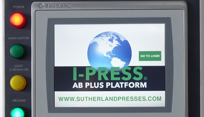 I-PRESS AB PLUS THE LATEST IN FULLY FEATURED & SAFE PRESS & AUTOMATION CONTROLS