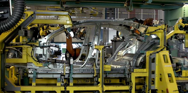 Mercedes S Class Welding