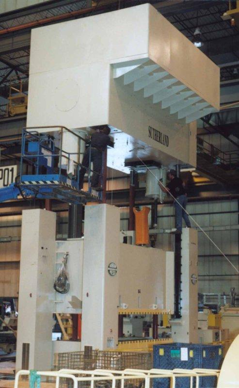 Sutherland 660 ton press