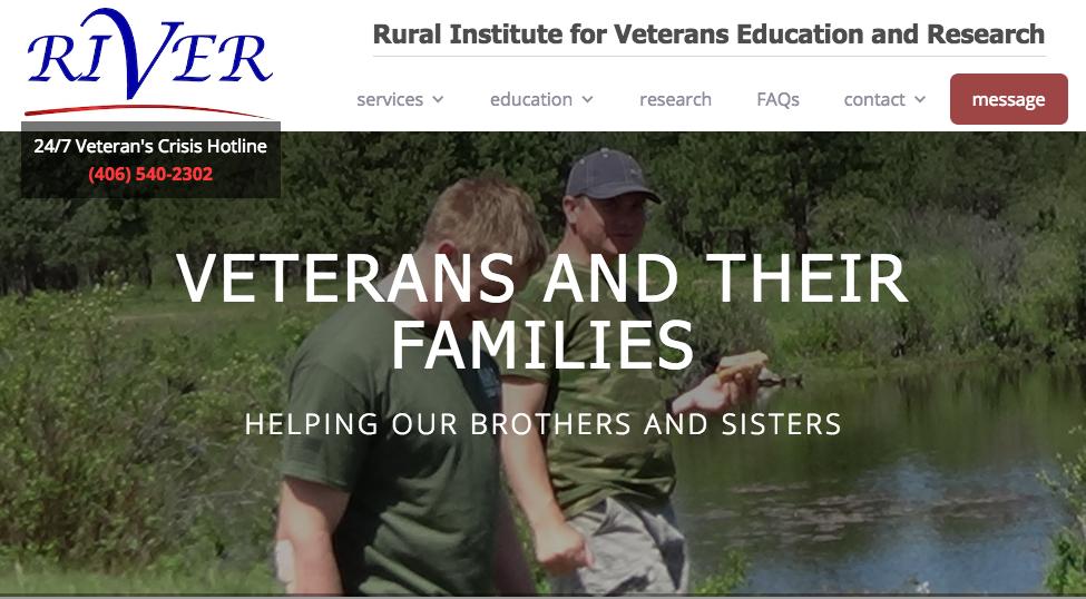 Screen shot of the website Change Trials.