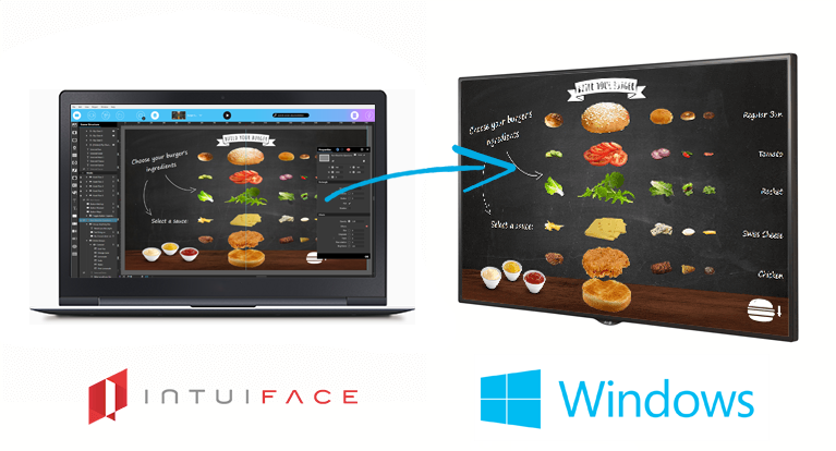 IntuiFace Digital Signage software  for Windows