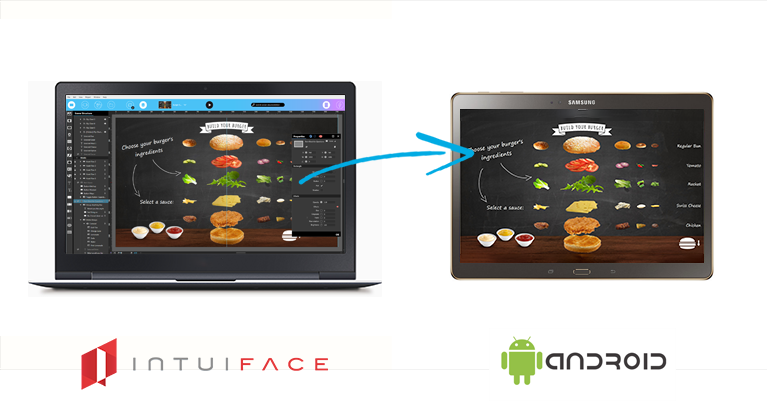 IntuiFace Digital Signage software  for Chrome OS
