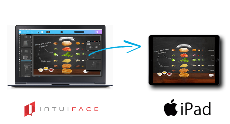 IntuiFace Presentation software  for iPad